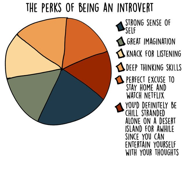 Humorous Charts and Graphs Show What Being an Introvert Is All About