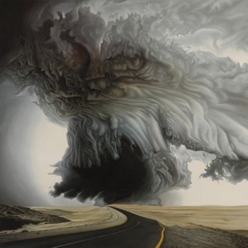 Intense Acrylic Storm Paintings Portray the Power of Nature