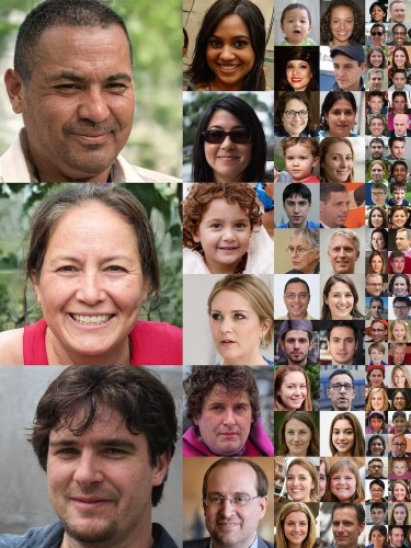 AI Generates Incredibly Believable Faces of Humans That Don't Really Exist