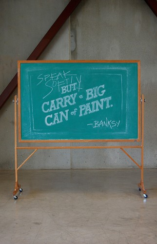 Anonymous Student Duo Illustrate Motivational Quotes with Amazing Chalkboard Art