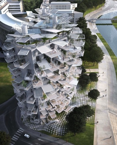Stunning High-Rise Tower Mimics a Tree with Branches