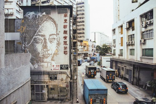Interview: One Artist is Carving Walls Around the World to Turn Them into Portraits of Locals