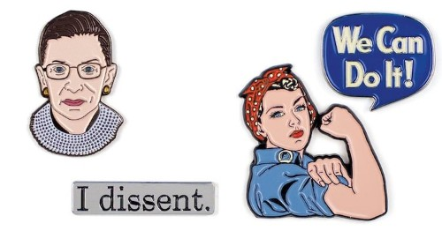 Get Right to the Point When You Wear These Empowering Feminist Pins