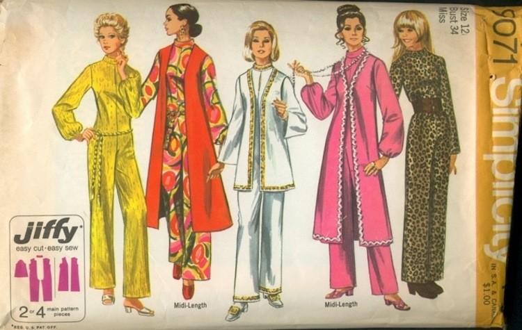 Vintage Fashion - Magazine cover