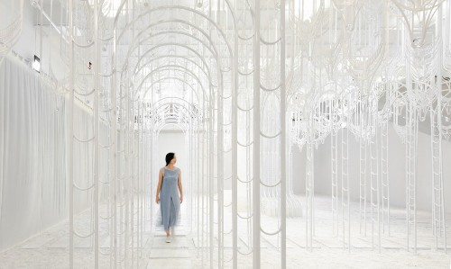 Ethereal Installation Reimagines the Garden of Eden as a Crystalline Wonderland