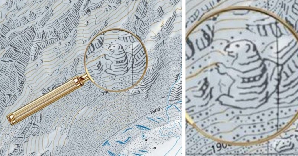 Cartographers Have Secretly Been Hiding Illustrations Inside Switzerland's Maps for Decades
