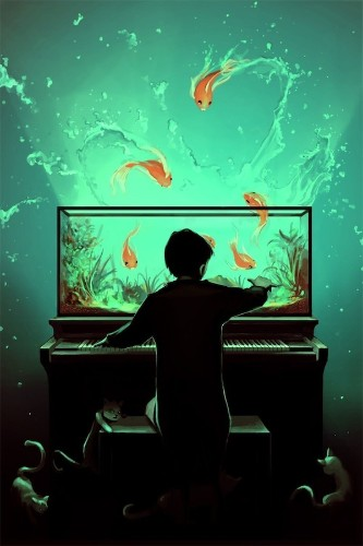 Beautiful Fantasy-Filled Digital Paintings by Cyril Rolando