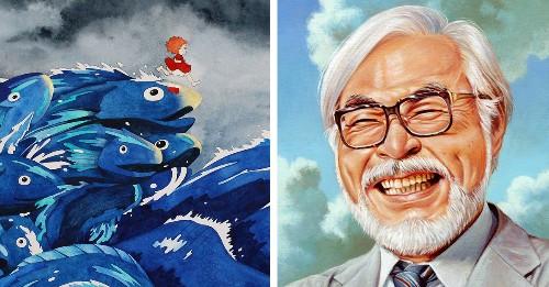 100+ Artists Pay Tribute to Creative Genius Hayao Miyazaki in 3 Day Art Show