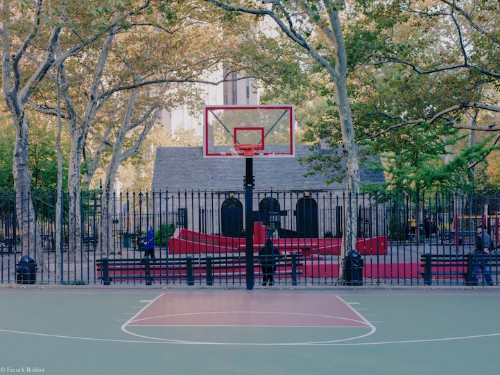 Unique Basketball Hoops Across New York City