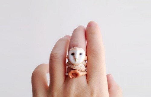 3-Piece Rings That Need to Be Worn at Once to Become Playful Animals
