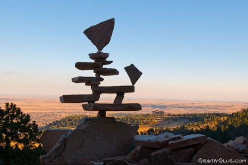 Unbelievable Stacks of Balanced Stones Seem to Defy Gravity