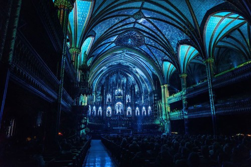 19th-Century Gothic Church Is Transformed into an Immersive Wonderland Inside