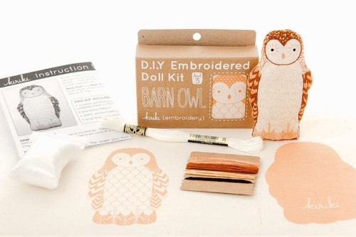 Make Your Own Animal Doll Collection With These Cute Embroidery Kits