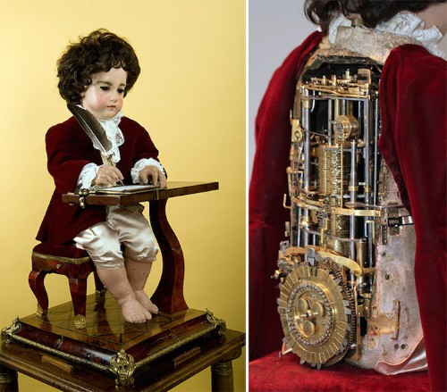 Remarkable 240-Year-Old Doll Automaton Can Write Actual Programmable Text