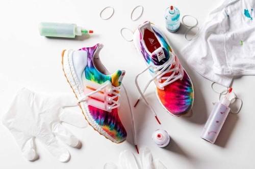 Adidas Releases Groovy Tie-Dye Sneaker in Celebration of Woodstock's 50th Anniversary