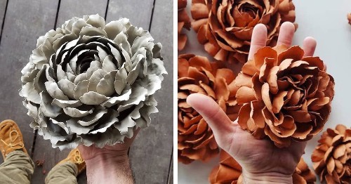 Brilliantly Crafted Porcelain Flowers That Look Like Real Beautiful Blooms