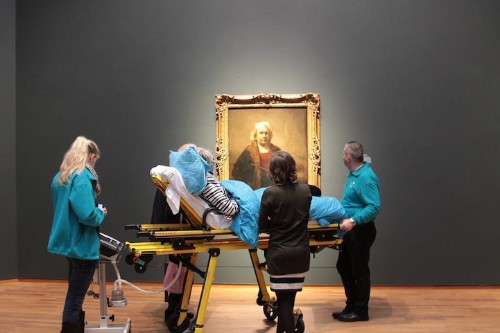 Terminally Ill Woman Receives Last Wish to Visit a Museum