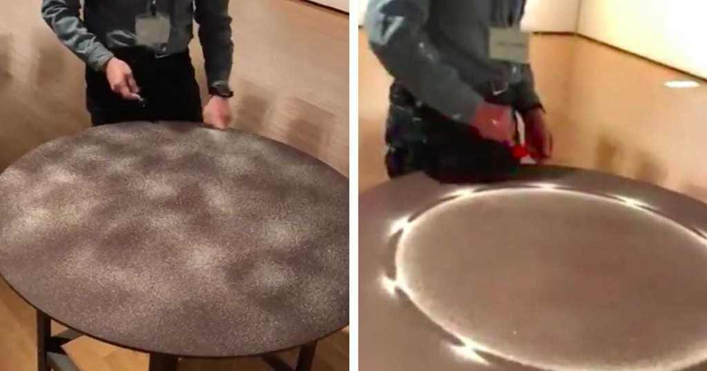 Artist Uses the Power of Sound to Turn Sand Into Mesmerizing Patterns