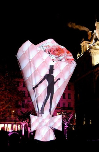 12 Most Surreal Light Installations at Lyon's Festival of Lights
