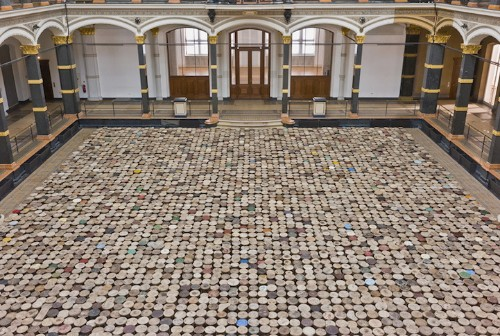 Ai Weiwei's New Exhibition Features a Room Filled with 6,000 Stools