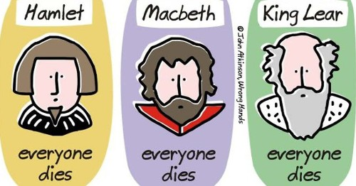 """Cartoonist Shares Funny """"Spoilers"""" of Some of Classic Literature's Most Celebrated Tales"""