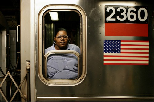 Portraits of NYC Subway Drivers Enjoying a Quiet Moment