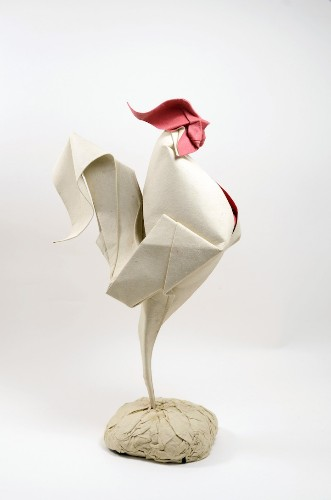 Origami Artist Creates Charming Animals with Unique Wet Folding Technique