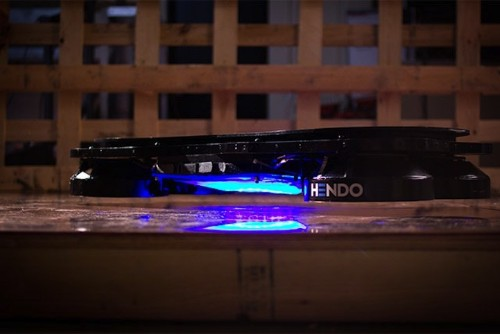 First Real Hoverboard Design Floats One Inch Above the Ground