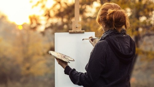 Learn How to Paint a Colorful Sunset in Easy to Follow Steps