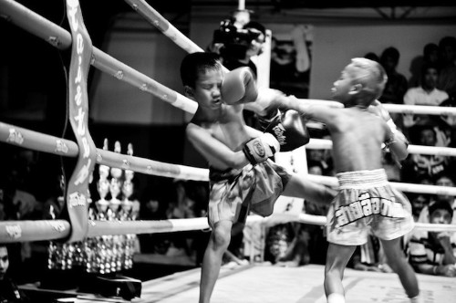 An Eye-Opening Look at 6-Year-Old Muay Thai Fighters