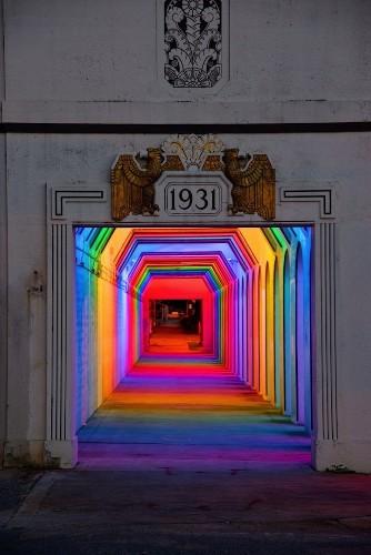 Spectacular Spectrum of Light in a Birmingham Underpass