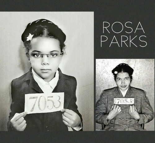 5-Year-Old Girl Recreates Photos of Inspiring Women Every Day of Black History Month