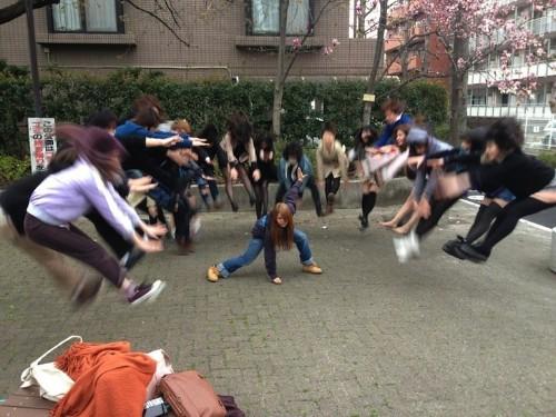 Japanese Schoolgirls Perform Superhuman Energy Attacks