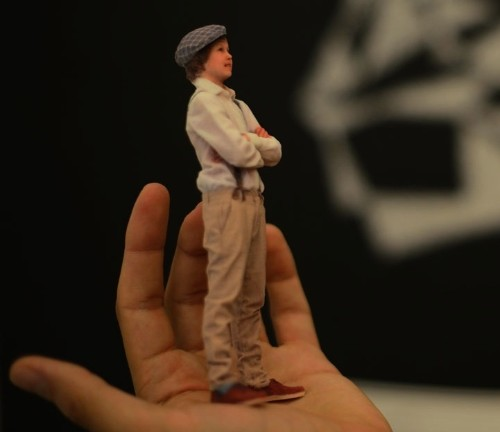 Create a Tiny Version of Yourself Through 3D Printing