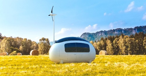 Self-Sustainable, Solar-Powered 'Ecocapsule' Pod Launches in the U.S.
