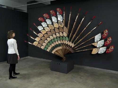 Mesmerizing Mechanized Sculptures Reflect Silhouettes