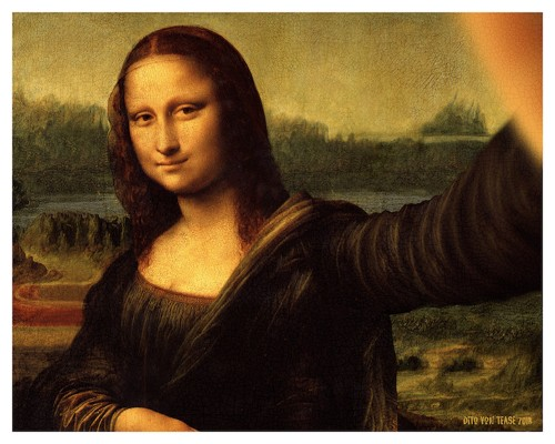 What If People from Famous Paintings Were Modern-Day Instagrammers Taking Selfies