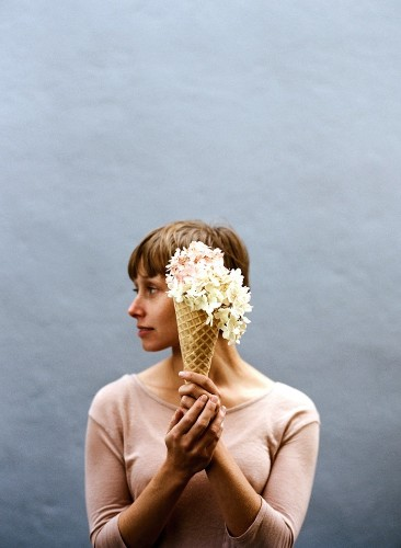 Creatively Blurring the Line Between Ice Cream and Flowers