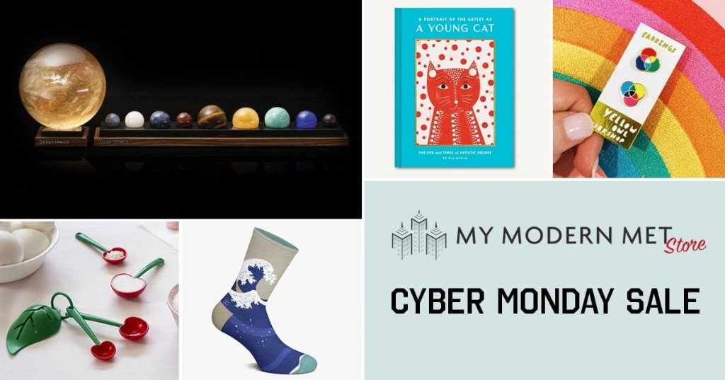 Cyber Monday Deal at My Modern Met Store: Save 15% on All of Our Creative Products