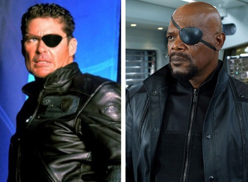 "Side-By-Side Comparisons Reveal How On-Screen Superheroes Look ""Then and Now"""