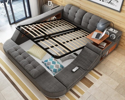 Multifunctional Bed Designed as the Ultimate Adult Playground You'll Never Want to Leave
