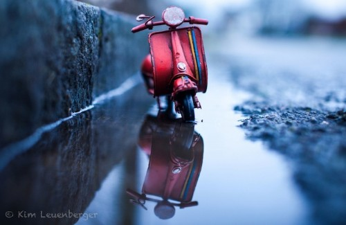 Playful Landscapes Feature the Adventures of Tiny Toy Cars