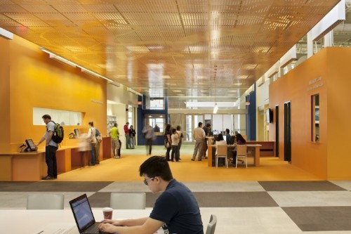 Former Walmart Transformed Into Modern Library Space