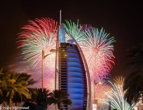Dubai's World Record Breaking Fireworks Show
