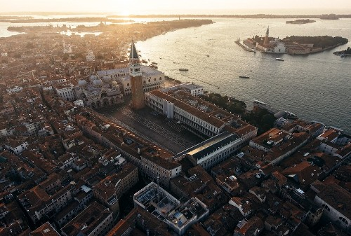 Stunning Aerial Photos Offer a Unique Perspective of Venice