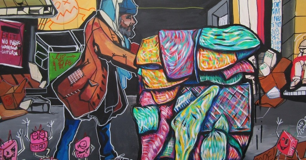 Powerful Paintings Recount an Artist's Personal Experiences With Addiction and Homelessness