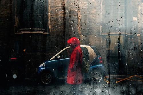 Fine Art Photographer Captures the Melancholic Beauty of a Rainy Day