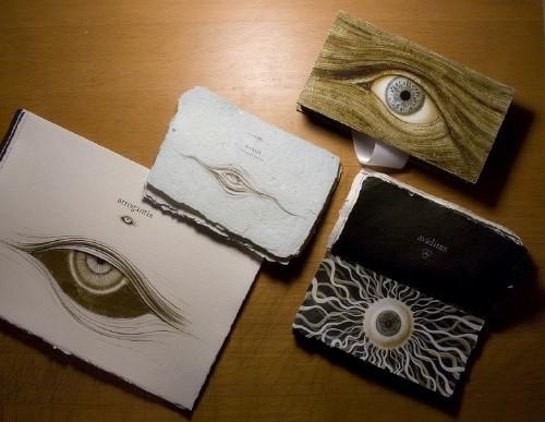 Handmade Book Features Mesmerizing Illustrations of Striking Eyes