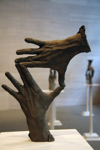 Incredible Bronze Hand Sculptures by Bruce Nauman