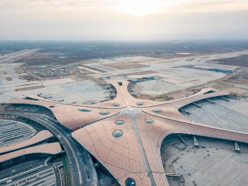 Zaha Hadid Architects Creates World's Largest Single-Building Airport Terminal